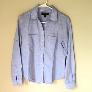 Banana Republic Linen Button Down